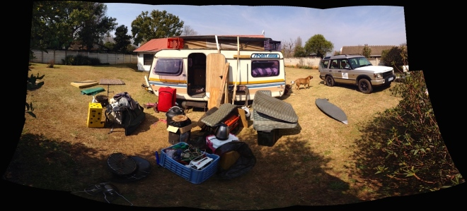 Packing the caravan | KwaZulu Natal