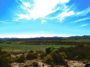 Stunning inland landscapes