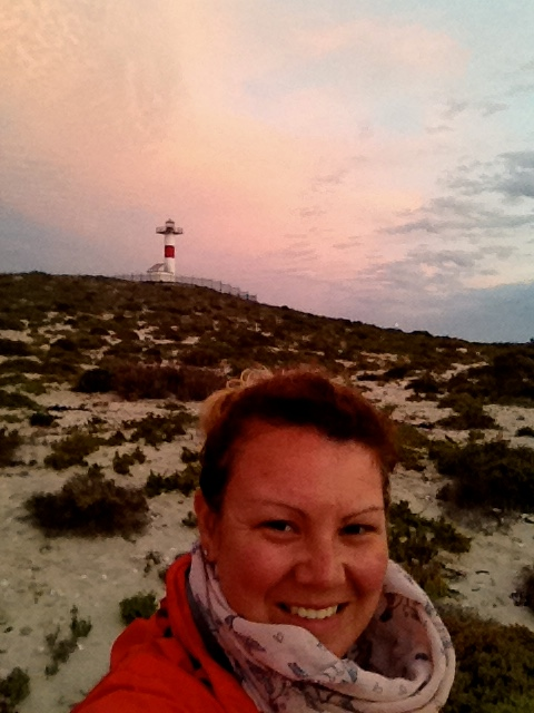 Just me and the lighthouse