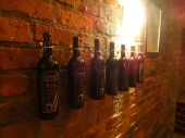 """""""And there were 7 wine bottles, hanging on the wall..."""""""