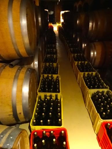 Walls of wine