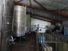 Heavy duty wine making equipment
