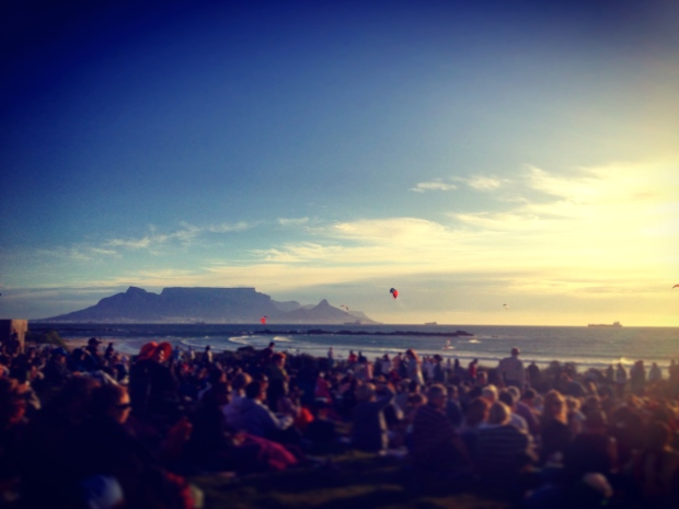 Sundowners With A View Of 'The' Mountain
