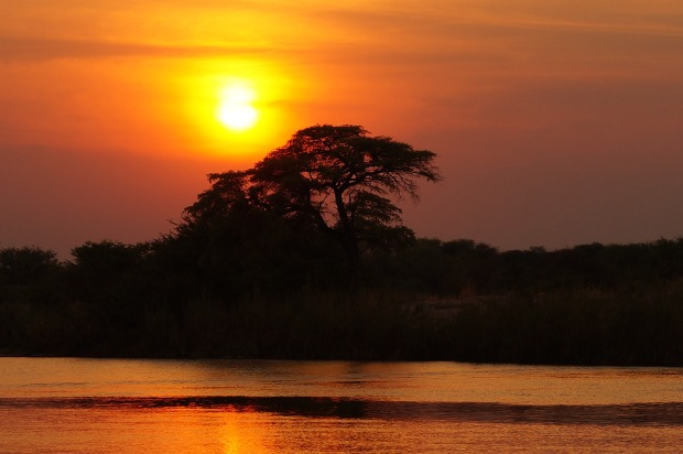 There's nothing more magical than an African sunset.